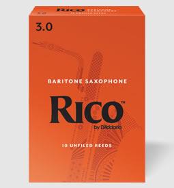 休日 RICO D'Addario WoodWinds 発売モデル リコ 10枚入り バリトンサックスリード STORE ONLINE