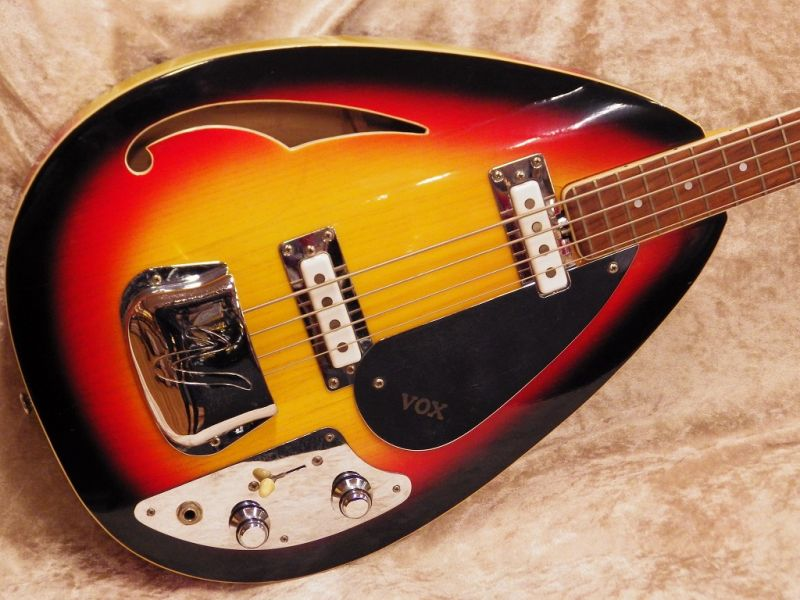 VOX The V248 Vox Wyman Bass -Sunburst-【VINTAGE】