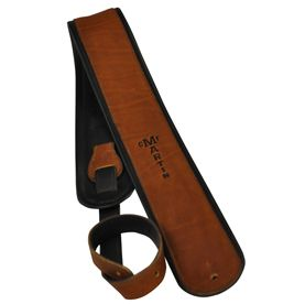 Martin Brown Rolled Leather Strap 18A0028【Martin純正革ストラップ!】【 【Martin日本総代理店 クロサワ楽器名古屋店 在庫品】【新品】【名古屋店在庫品】