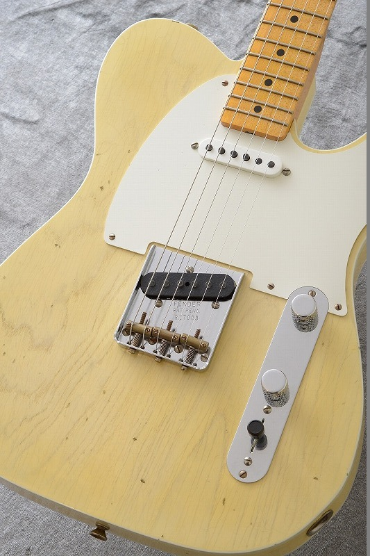 Fender Custom Shop 50s Telecaster Custom Journeyman Relic / Nocaster Blonde【名古屋店在庫品】