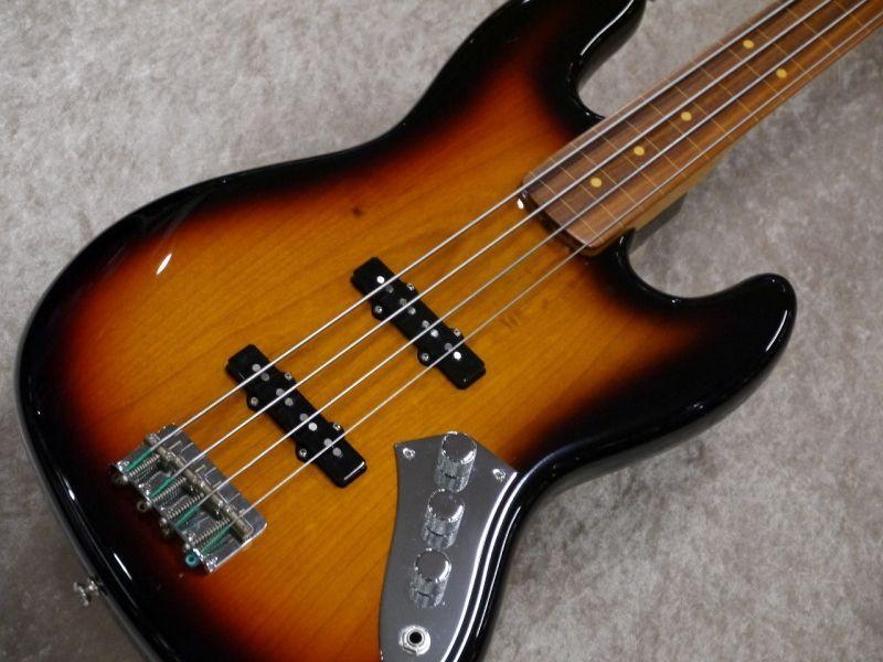Fender 【フレットレス】Artist Series Jaco Pastorius Jazz Bass -3 Color Sunburst-【特価!!】【名古屋店在庫品】