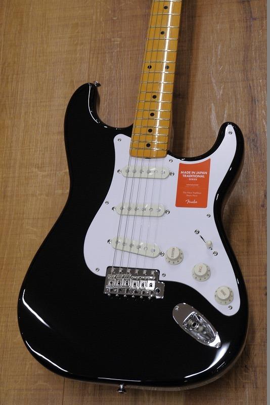 Fender Japan Traditional 58 Stratocaster -BLK-【B級品「チョイ傷アウトレット大特価」】【名古屋店在庫品】