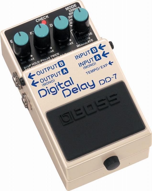 BOSS DD-7 Digital Delay【名古屋店在庫品】