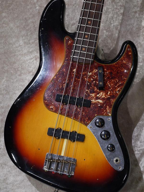 Fender Custom Shop 62 Jazz Bass Journeyman Relic / 3 Tone Sunburst【名古屋店在庫品】