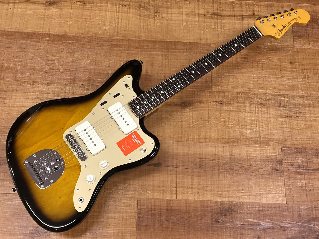 Fender Made in Japan Traditional 60s Jazzmaster Anodized / 2 Tone Sunburst【名古屋店在庫品】