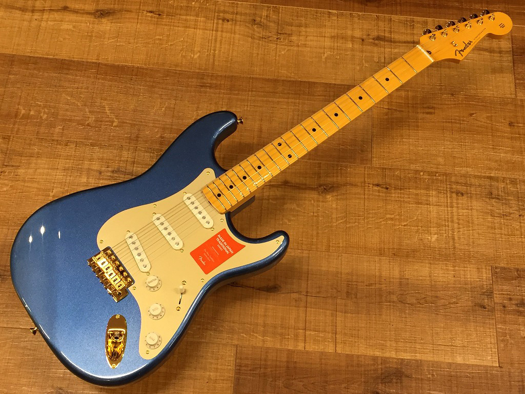 Fender Made in Japan Traditional 50s Stratocaster Anodized / Lake Placid Blue【名古屋店在庫品】