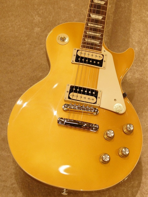 Gibson Les Paul Classic 2019 -Gold Top-【NEW!!】【名古屋店在庫品】