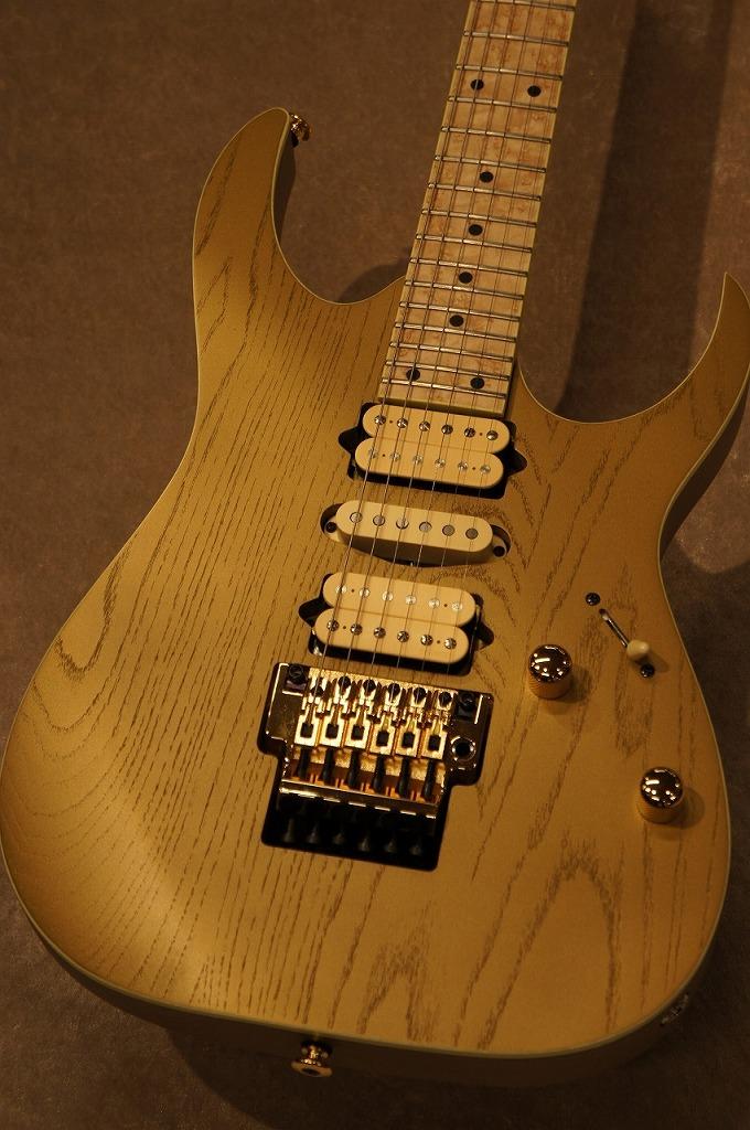 Ibanez 【限定モデル!!】[Prestige Series] Limited Model RG657AHM Gold Flat【NEW!!】【名古屋店在庫品】