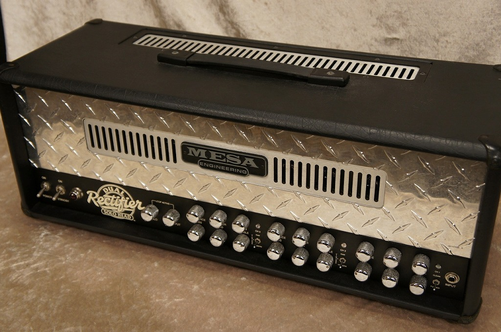 Mesa/Boogie Dual Rectifier Solo Head 【USED】【名古屋店在庫品】