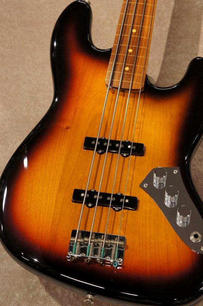 Fender 【Artist Series】 Jaco Pastorius Jazz Bass -3 Color Sunburst-【アウトレット】【名古屋店在庫品】