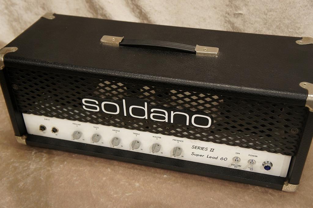 Soldano Super Lead 60 SeriesII【USED】【名古屋店在庫品】【名古屋店在庫品】