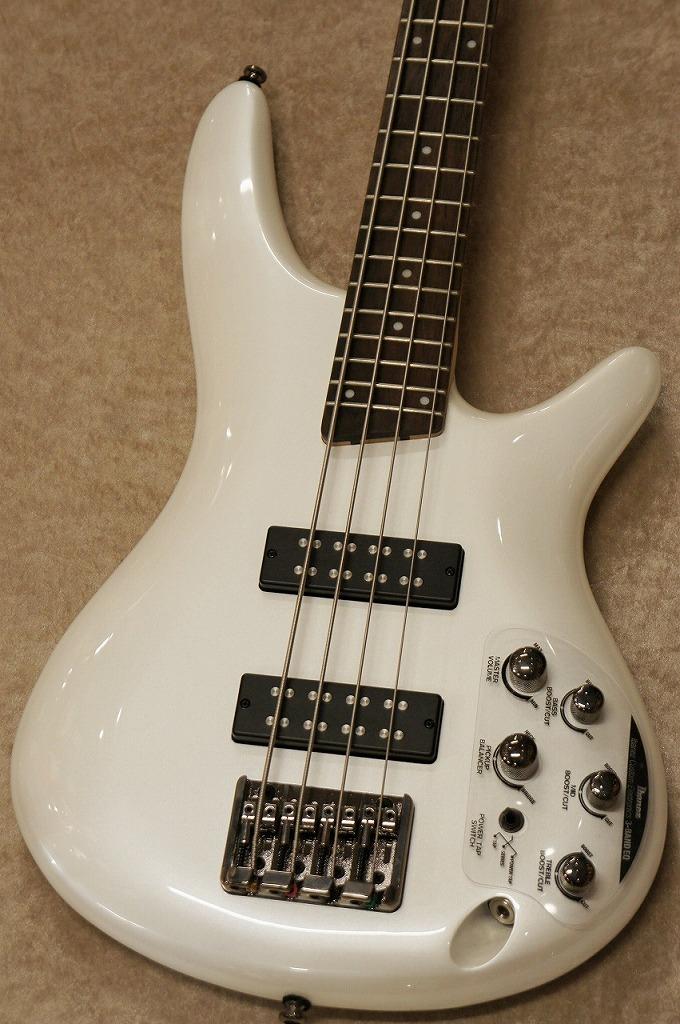 Ibanez SR300E -Pearl White-【展示特価】【名古屋店在庫品】