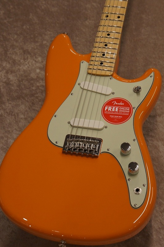 Fender Duo-Sonic, Maple Fingerboard, Capri Orange【名古屋店在庫品】