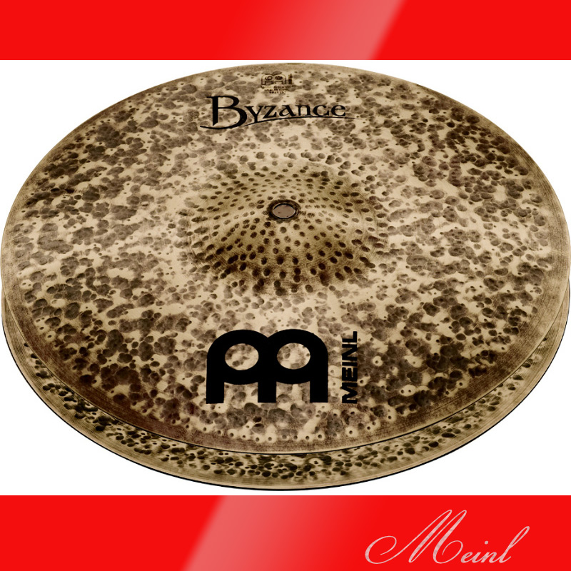 Meinl マイネル Byzance Dark Series Hihat 14