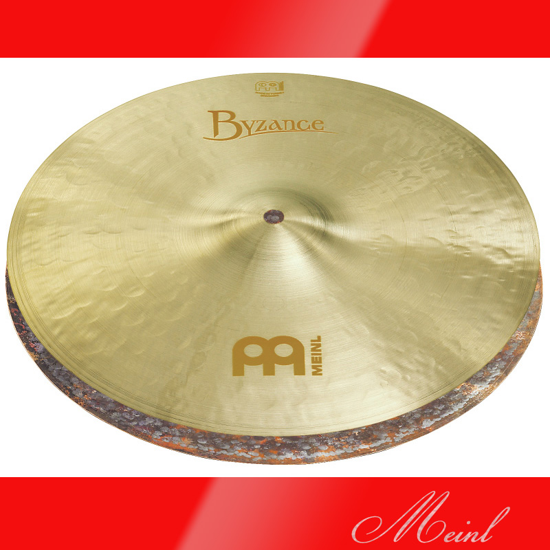 Meinl マイネル Byzance Jazz Series Hihat 14