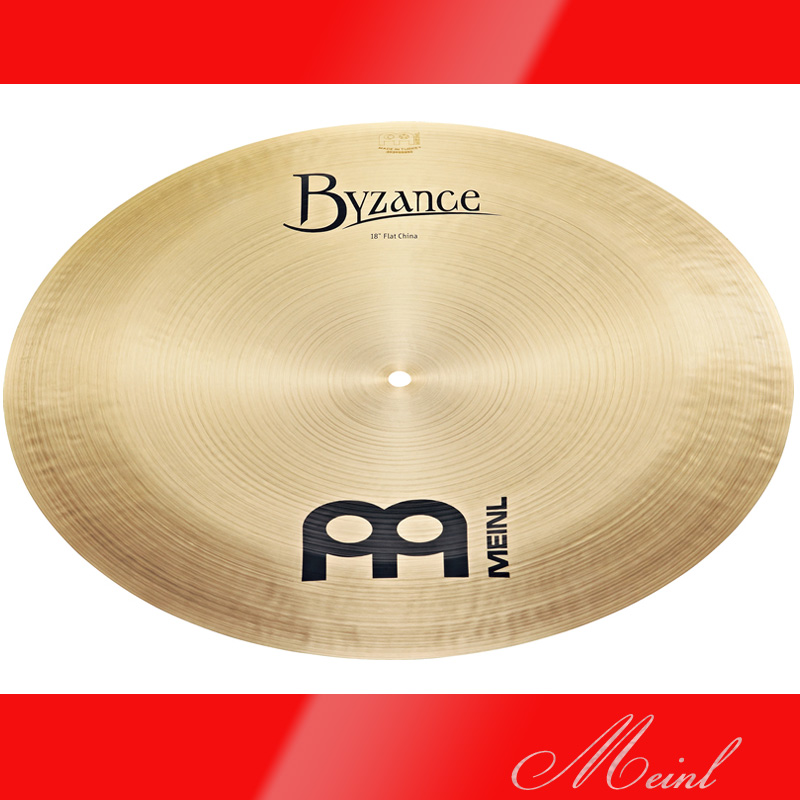 Meinl マイネル Byzance Traditional Series Flat China Cymbal 16