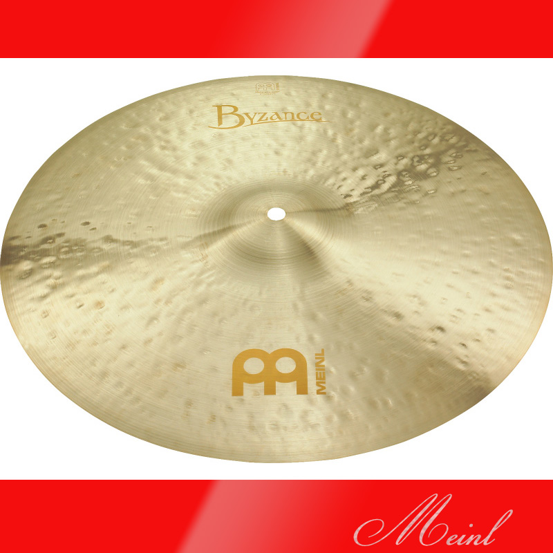 Meinl マイネル Byzance Jazz Series Crash Cymbal 16