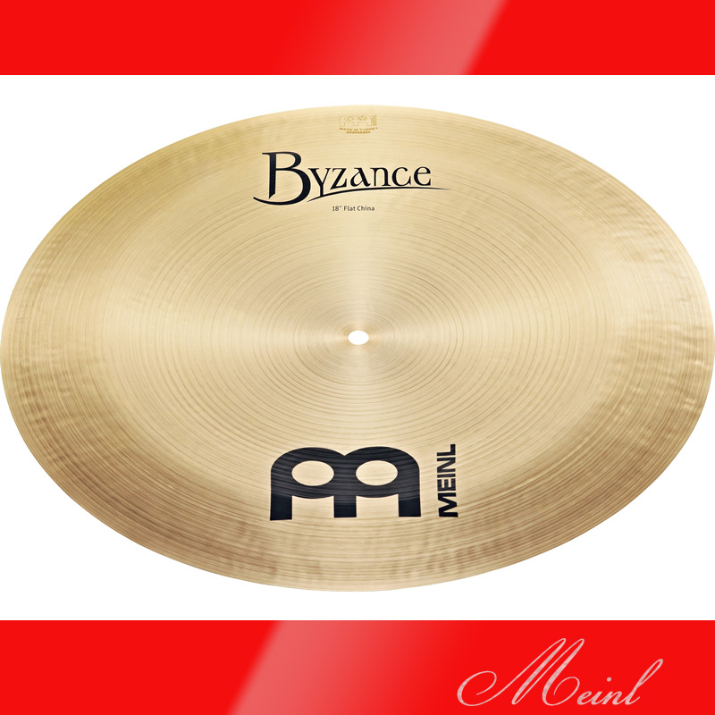 Meinl マイネル Byzance Traditional Series Flat China Cymbal 18