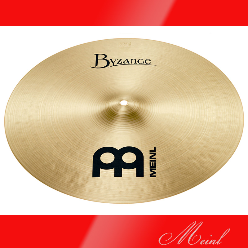 Meinl マイネル Byzance Traditional Series Crash Cymbal 18