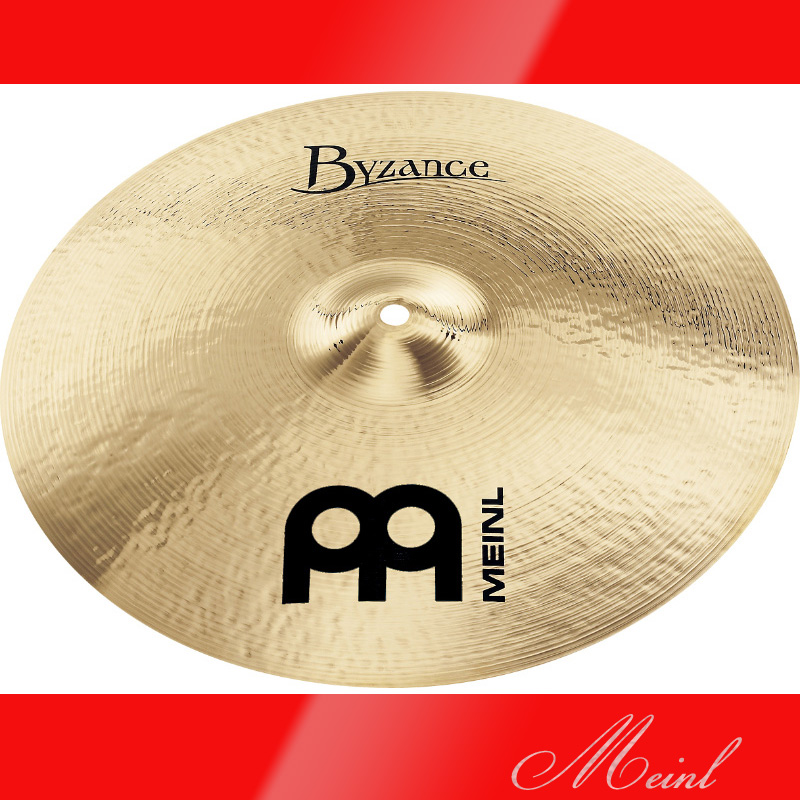 Meinl マイネル Byzance Brilliant Series Crash Cymbal 18