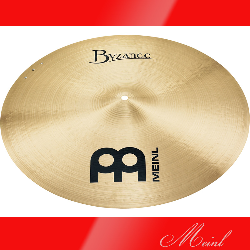 Meinl マイネル Byzance Traditional Series Sizzle Ride Cymbal 20