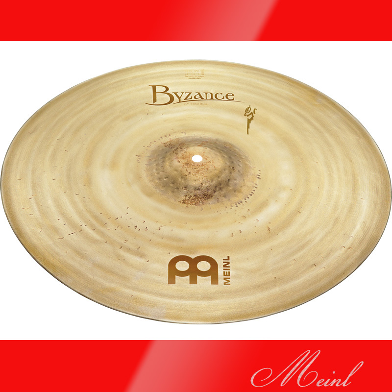 Meinl マイネル Byzance Vintage Series Sand Ride Cymbal 20