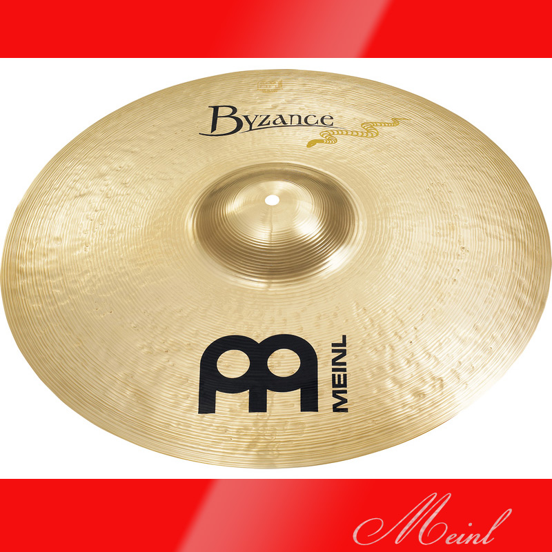 Meinl マイネル Byzance Brilliant Series Serpents Ride Cymbal 21