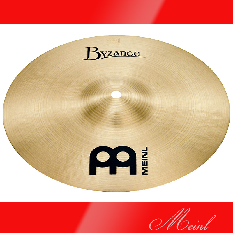 Meinl マイネル Byzance Traditional Series Splash Cymbal 8