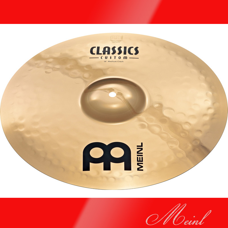 Meinl マイネル CLASSICS CUSTOM Crash Cymbal 16