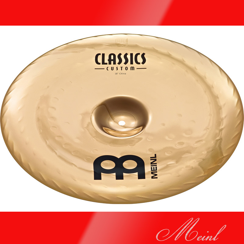 Meinl Meinl マイネル CLASSICS Cymbal CUSTOM China Cymbal 18