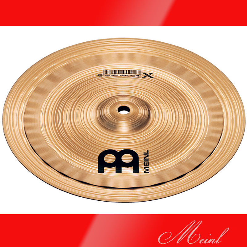 Meinl マイネル generation X Electro Stacks Cymbal 10