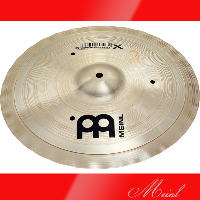 Meinl マイネル generation X Trash Hat Cymbal 12