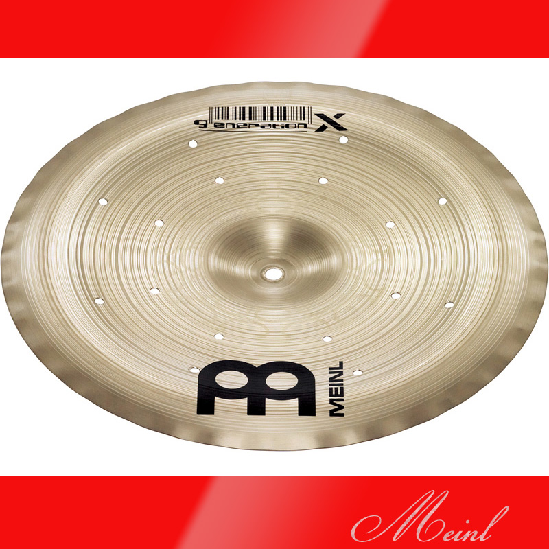 Meinl マイネル generation X Filter China Cymbal 12