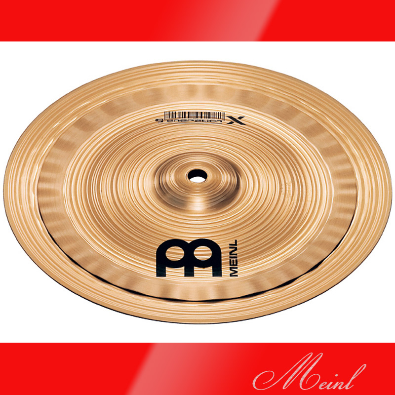 Meinl マイネル generation X Electro Stacks Cymbal 8