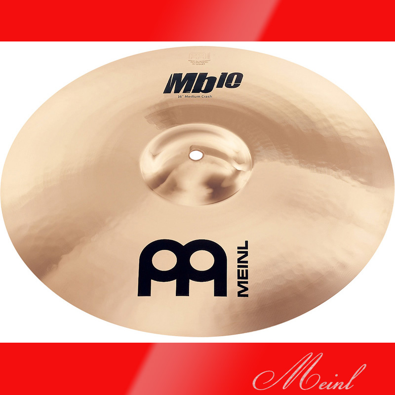 Meinl マイネル Mb10 Crash Cymbal 16