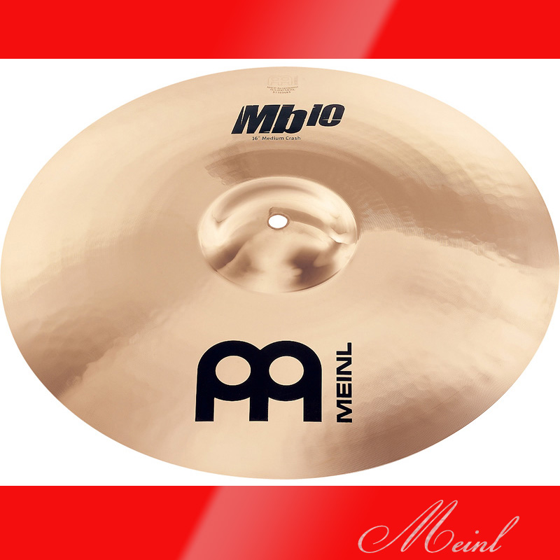 Meinl マイネル Mb10 Crash Cymbal 18