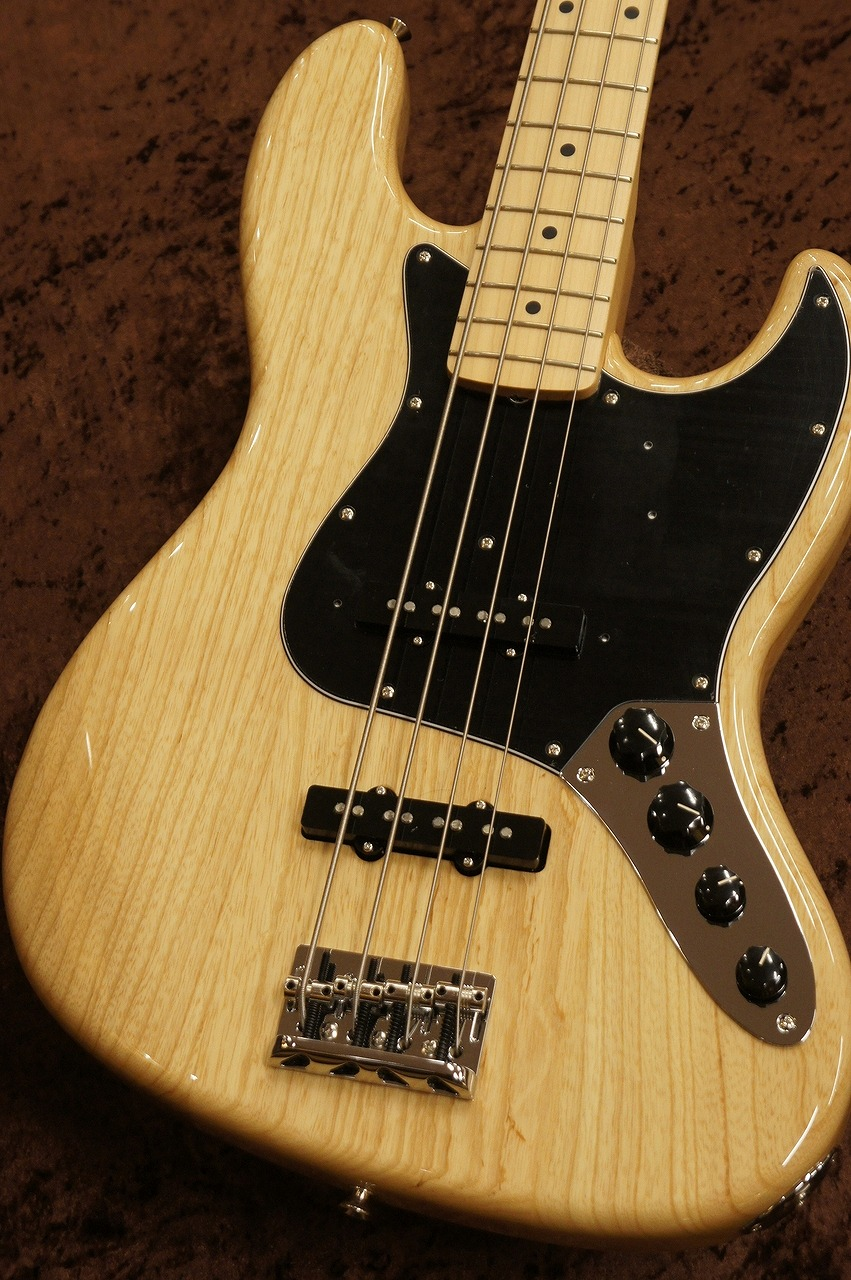 Fender Made in Japan Limited Active Jazz Bass -Natural-【New】【名古屋店】