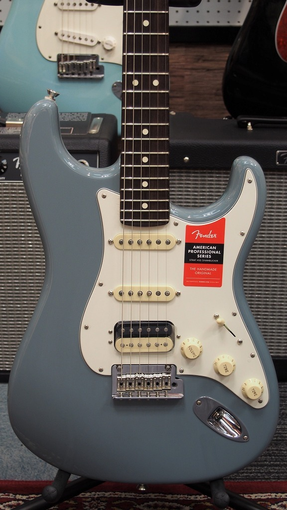Fender American Professional Stratocaster HSS Sonic Gray 【新品】【おちゃのみず楽器在庫品】