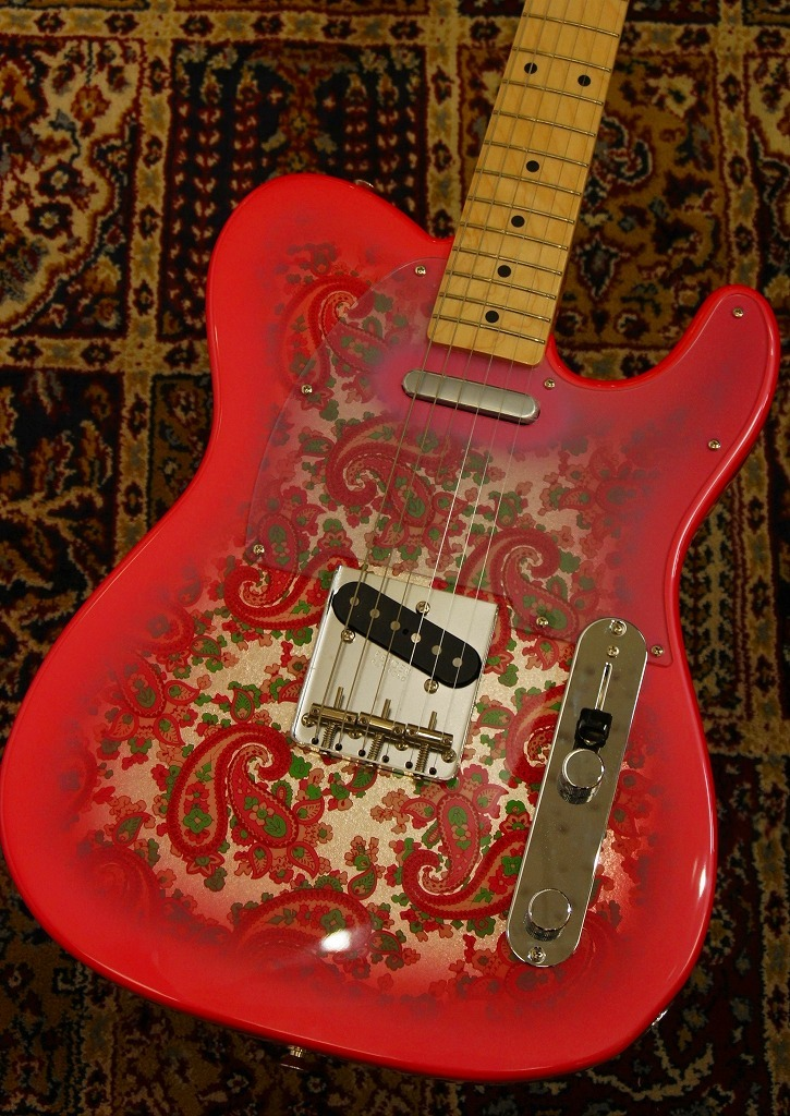 Fender Made in Japan Traditional '69 Telecaster Pink Paisley 【新品】【おちゃのみず楽器在庫品】