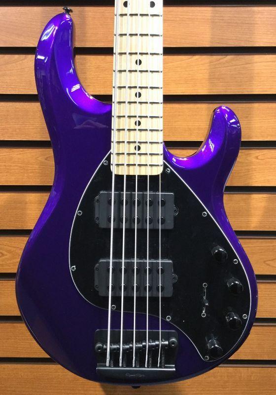 MUSIC MAN StingRay 5 HH -Firemist Purple/M- 【NEW】 【新品】【おちゃのみず楽器在庫品】