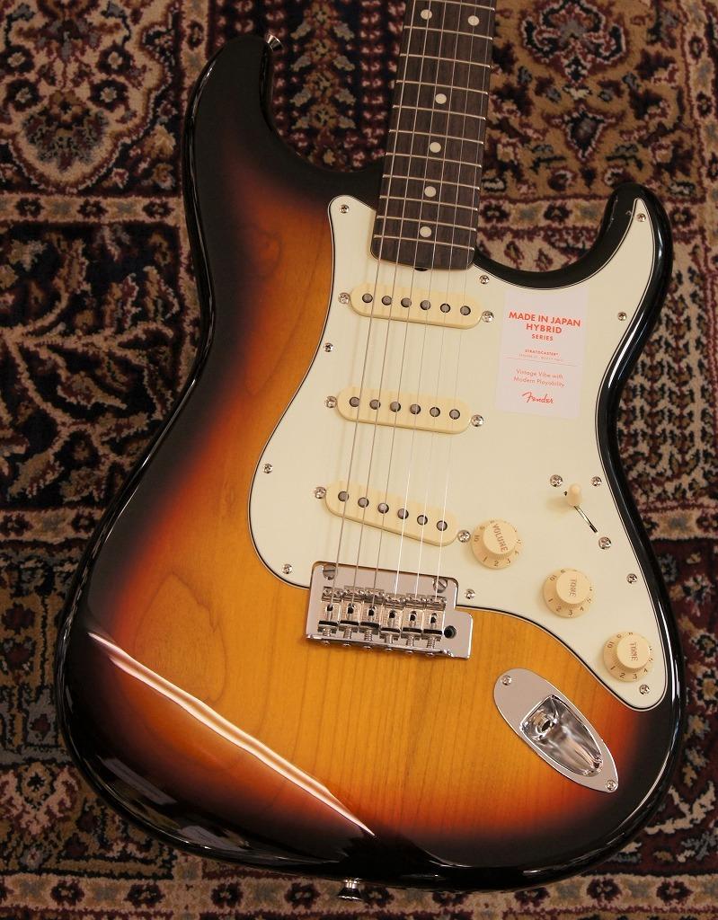 Fender Made in Japan HYBRID '60s Stratcaster 3-Color Sunburst 【新製品】 【新品】【おちゃのみず楽器在庫品】