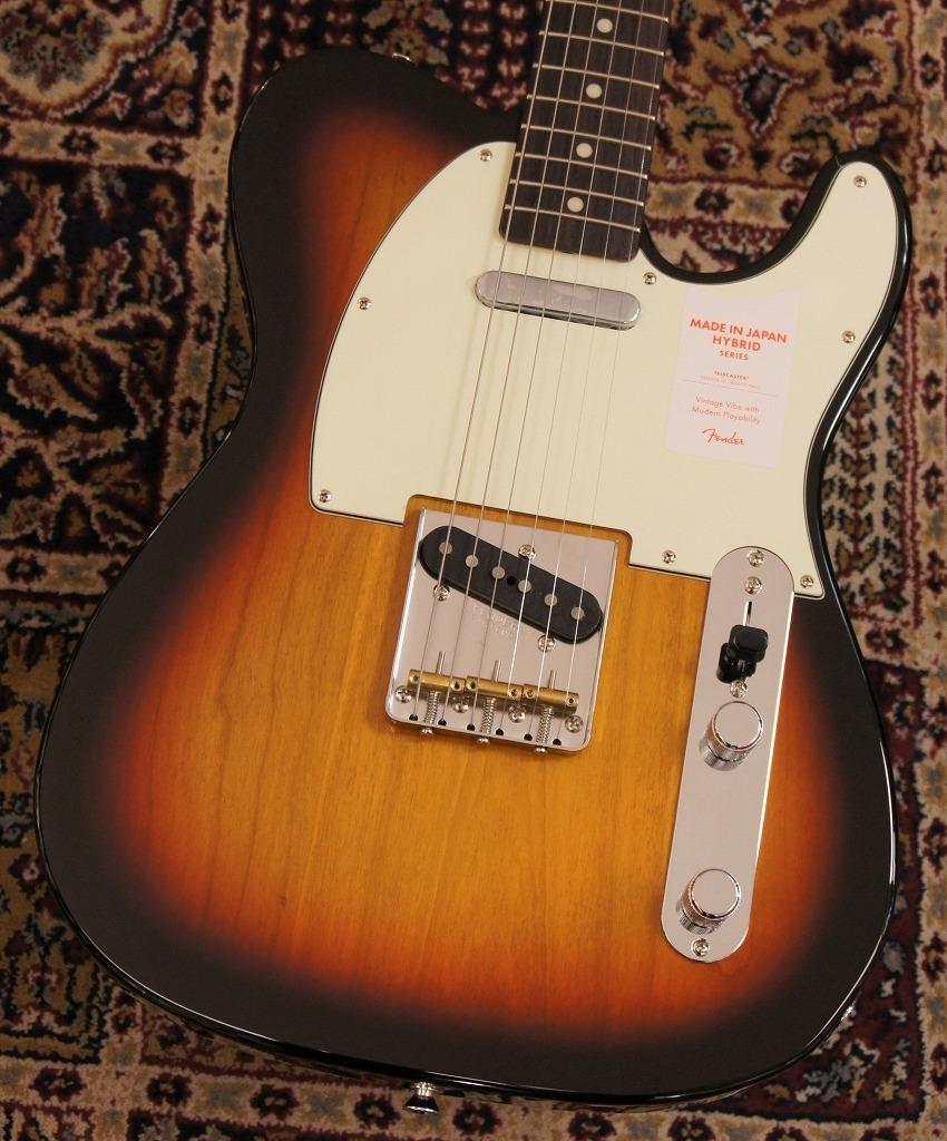 Fender made in Japan HYBRID '60s Telacaster 3-kolor Sunburst 【新製品】 【新品】【おちゃのみず楽器在庫品】