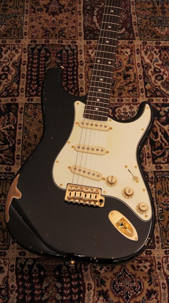 J.W.Black Guitars JWB-JP-S BLK/RW-R-G#170083【2017モデル】 【新品】【おちゃのみず楽器在庫品】