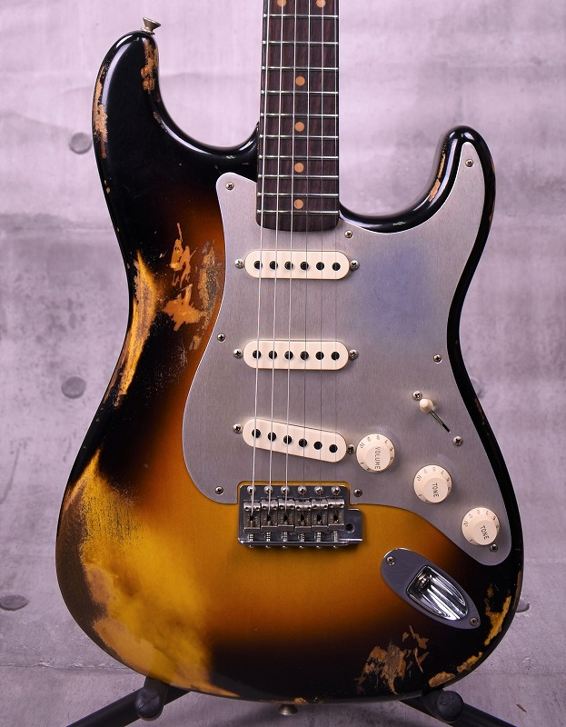 Fender Custom Shop 2017 Limited 1959 Roasted Stratocaster Heavy Relic -Wide Faded 3 Color Sunburst- 【新品】【おちゃのみず楽器在庫品】