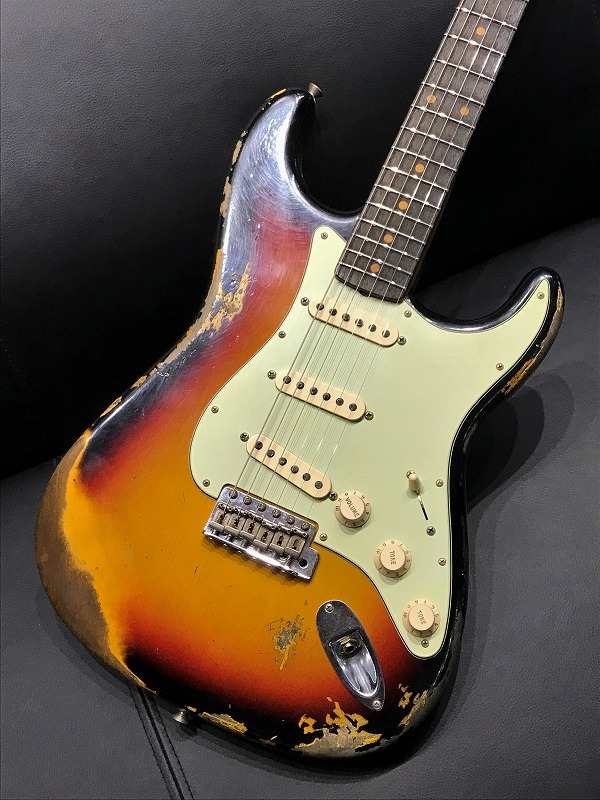 Fender Custom Shop 1960 Stratocaster Heavy Relic ~3TS~【新品】【現地選定品】【おちゃのみず楽器在庫品】