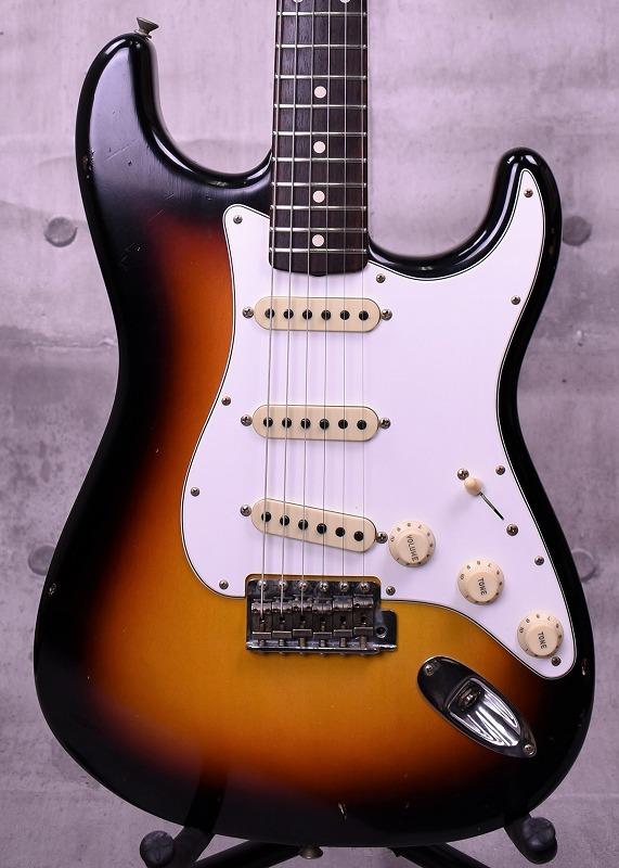 Fender Custom Shop Master Built 1963 Stratocaster Journeyman Relic Built by Dennis Galuszka ~3-Tone Sunburst~ #R90016 【新品】【特価品】【おちゃのみず楽器在庫品】