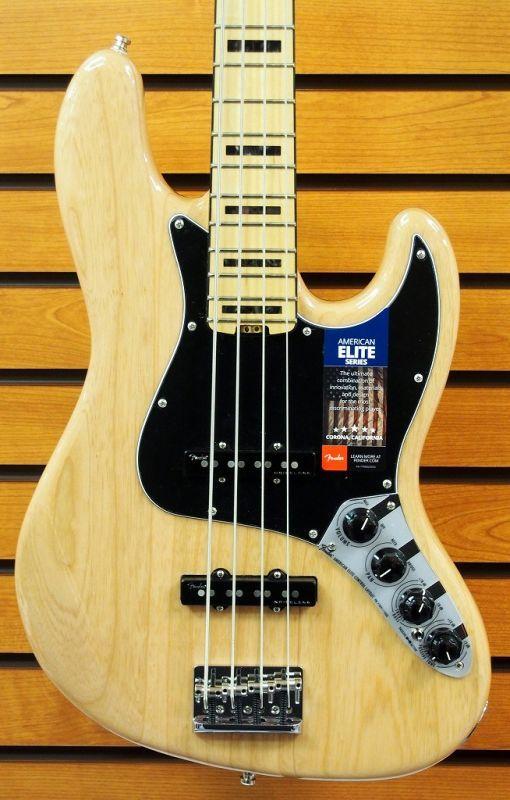 Fender USA American Elite JB NT/M【NEW】 【新品】【おちゃのみず楽器在庫品】