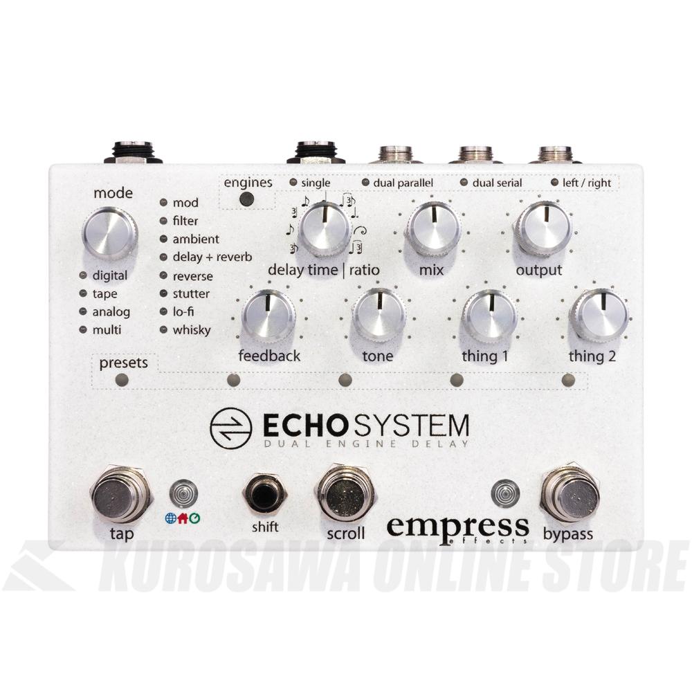 EMPRESS EFFETS Echosystem -Dual Engine Delay- (送料無料)【ONLINE STORE】