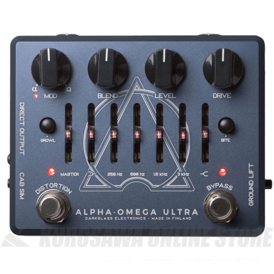 Darkglass ALPHA・OMEGA ULTRA《ベース・プリアンプ》【送料無料】 【ONLINE STORE】