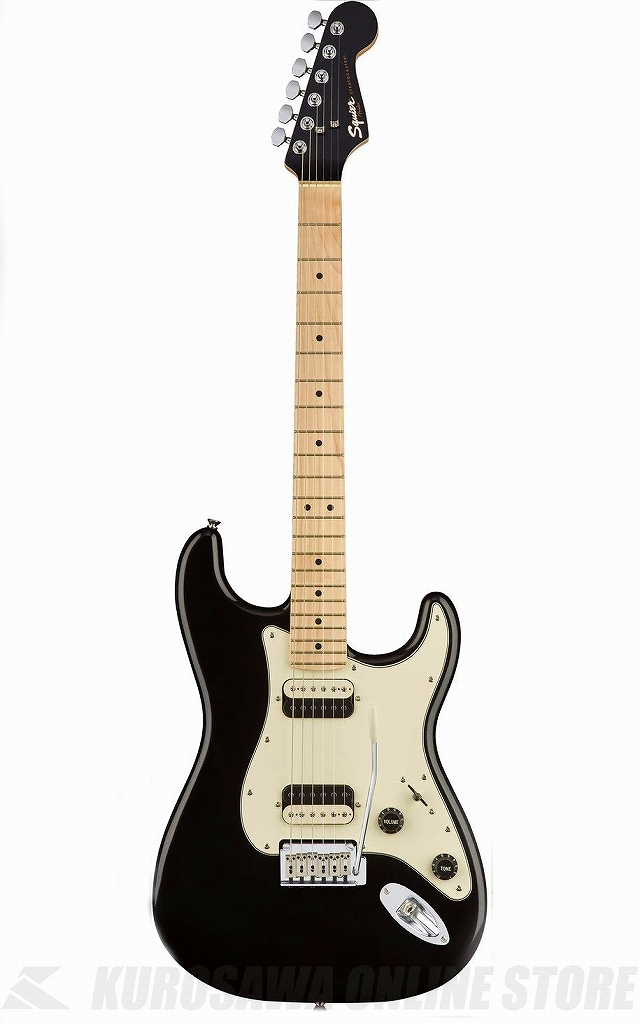 Squier by Fender Contemporary Stratocaster HH -Black Metallic/M-【送料無料】 【ONLINE STORE】